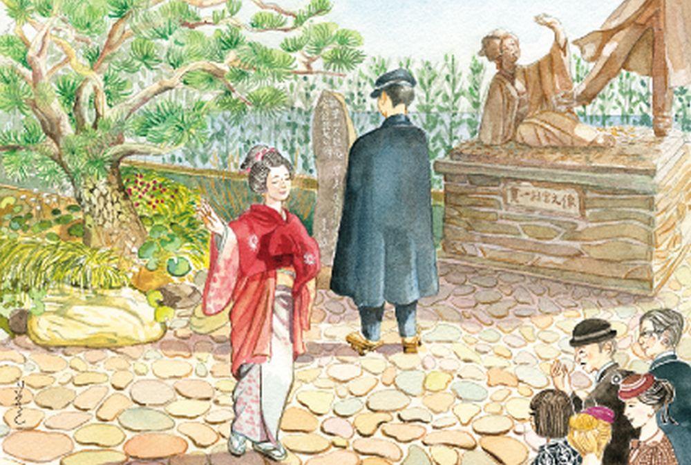 18-お宮の松と尾崎紅葉祭